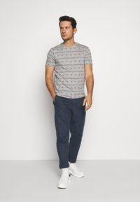 INDICODE JEANS - CANNES - T-shirt med print - grey - 1