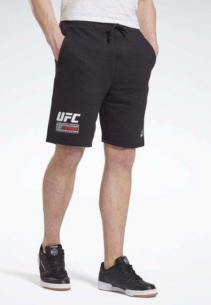 UFC FG FIGHT WEEK SHORTS - Short de sport - black