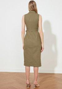 Trendyol - PARENT - Shirt dress - green - 1