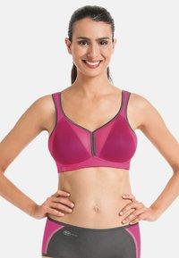 Anita - ANITA  - Sports bra - pink/anthrazit - 0