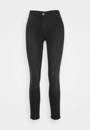 PANTALONI TROUSERS - Jeansy Skinny Fit - washed deep black