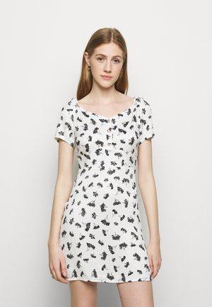 ROSELINE - Day dress - groseilles blanc