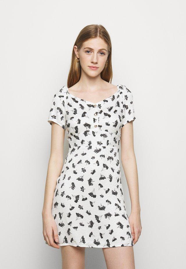 ROSELINE - Korte jurk - groseilles blanc