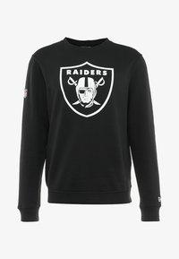 New Era - NFL TEAM LOGO OAKLAND RAIDERS - Artykuły klubowe - black - 4
