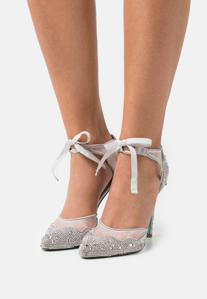 Blue by Betsey Johnson - IRIS - Classic heels - silver