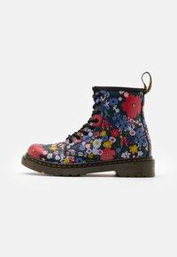 Dr. Martens - 1460 WANDERFLORA  - Lace-up ankle boots - black - 0