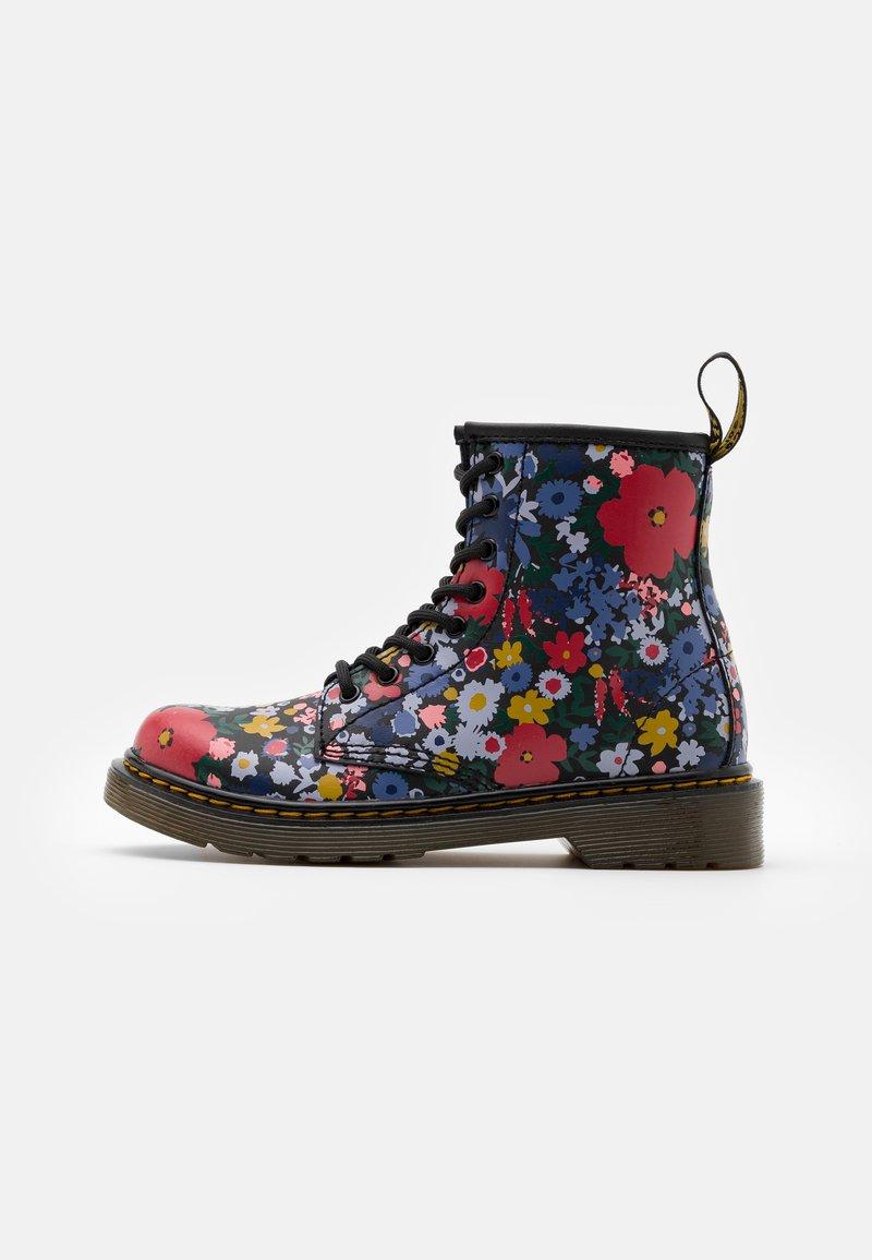 Dr. Martens - 1460 WANDERFLORA  - Lace-up ankle boots - black