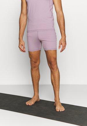 MEN SHORTS - Sportovní kraťasy - smoke lavender