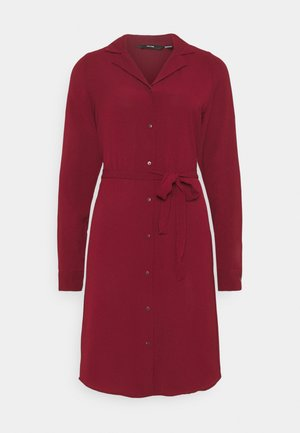 VMSAGA DRESS - Shirt dress - cabernet