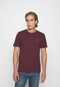 Levi's® - ORIGINAL TEE - Basic T-shirt - bordeaux - 0