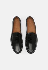 Office - MARVIN PENNY LOAFER - Scarpe senza lacci - black - 3