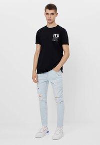 Bershka - Jeans Skinny - light blue - 1