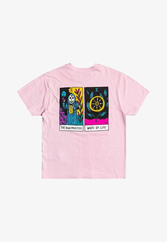 T-shirt imprimé - chalky pink