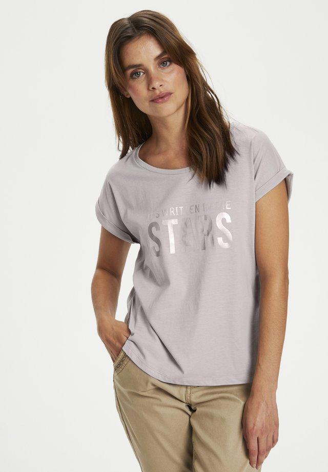 CRLOPPIE  - T-shirt imprimé - silver sconce