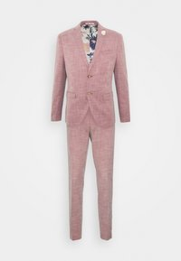 Isaac Dewhirst - WEDDING COLLECTION - SLIM FIT SUIT - Garnitur - pink - 0