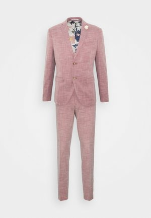 WEDDING COLLECTION - SLIM FIT SUIT - Costume - pink