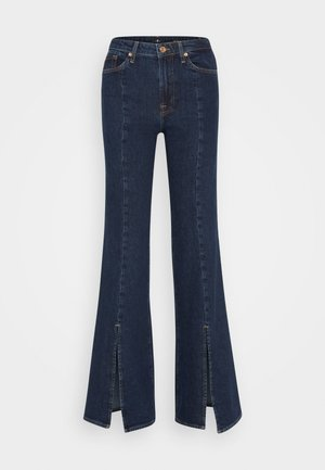 MODERN DOJO - Flared Jeans - dark blue