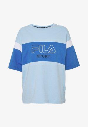LALETTE TEE - Print T-shirt - ceruleran/dazzling blue/bright white