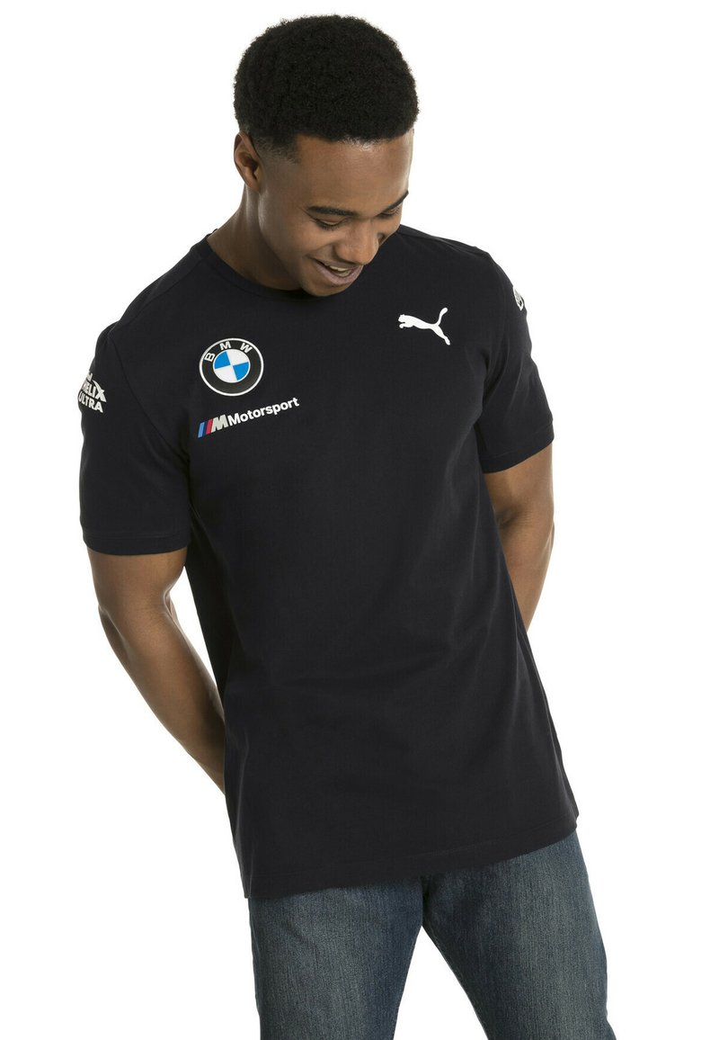 Puma - T-shirt med print - anthracite