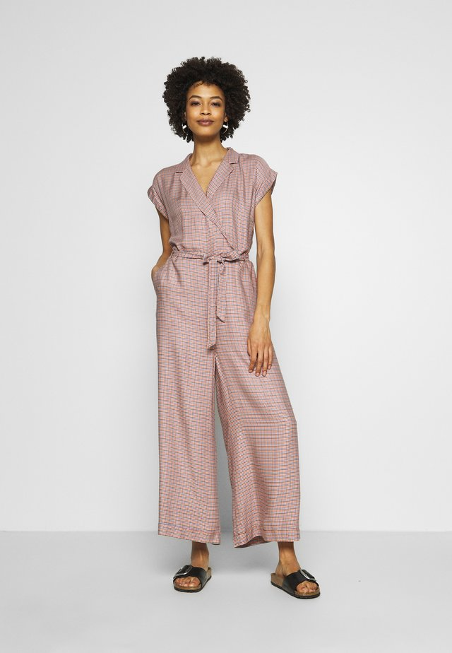 DORIS VERVEINE - Overall / Jumpsuit - red