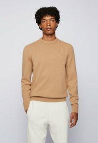 BOSS - KONTREAL - Stickad tröja - beige - 0