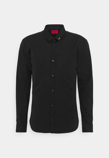 SLIM FIT - Kostymskjorta - black