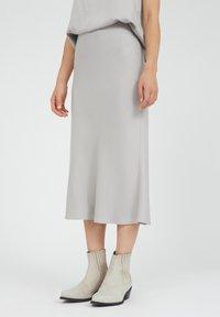 ARMEDANGELS - DEVORAA - A-line skirt - silver - 0