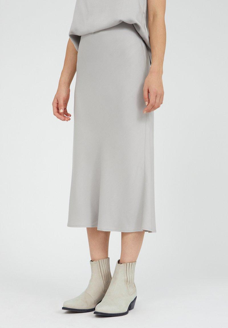 ARMEDANGELS - DEVORAA - A-line skirt - silver