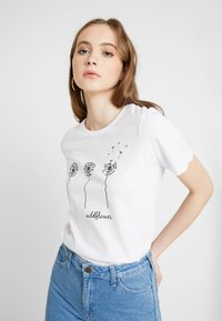 Even&Odd - T-Shirt print - white - 0