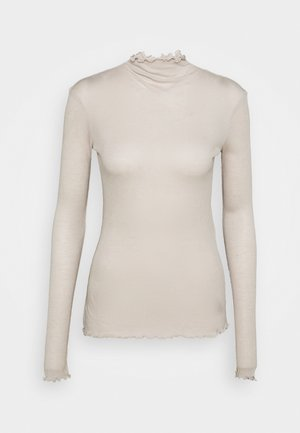 CUSCINO - Long sleeved top - beige