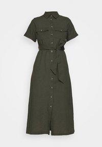 Dorothy Perkins - MIDI SHIRT DRESS - Košilové šaty - khaki - 4
