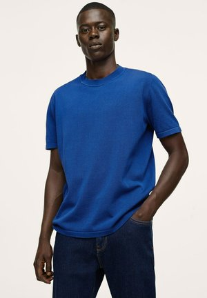 T-shirts - elektrisk blå