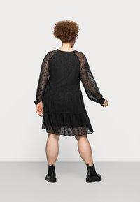 Pieces Curve - PCNUTSI DRESS - Cocktail dress / Party dress - black - 2