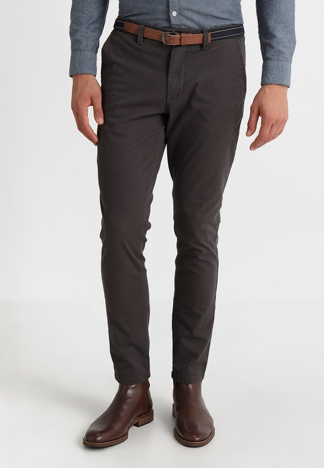 SLHSLIM JAMERSON PANTS - Chinos - phantom