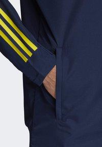 adidas Performance - SWEDEN SVFF PRESENTATION JACKET - National team wear - blue - 4