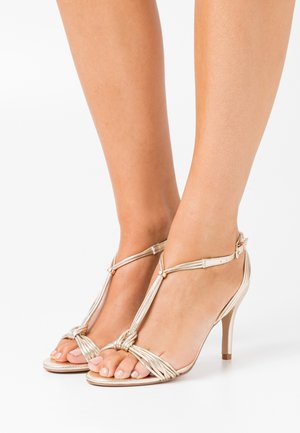 PHYLLIS - High heeled sandals - gold