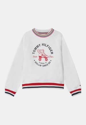 SKATE TEAM  - Sweatshirt - white