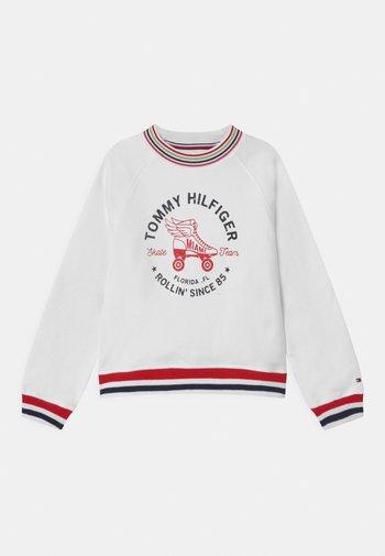 SKATE TEAM  - Sweatshirt - white
