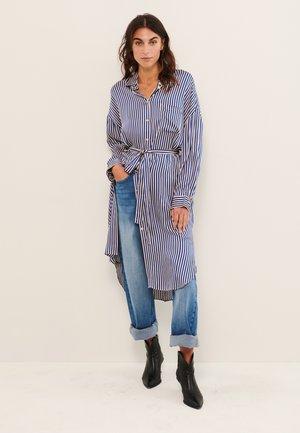 GRO - Shirt dress - stripe, deep ultramarine