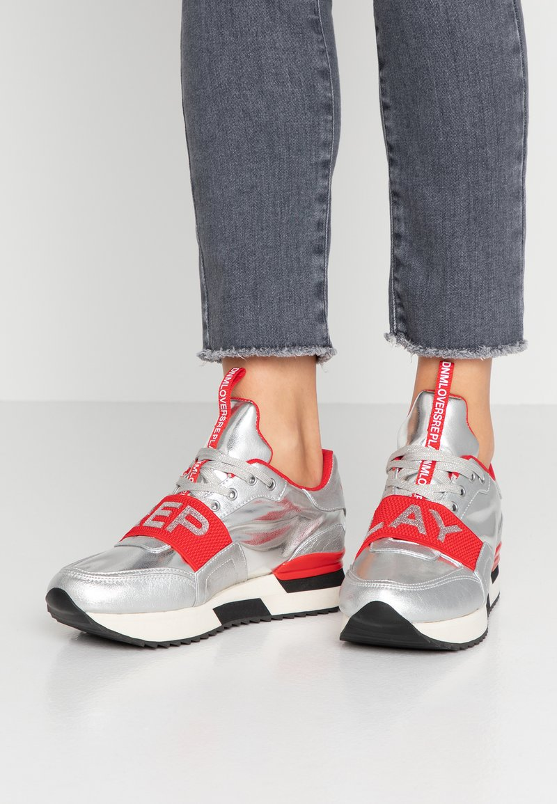 Replay - MEW - Trainers - silver/red
