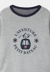 Petit Bateau - LOUSTIC REVERSIBLE  - Long sleeved top - smoking/marshmallow - 4