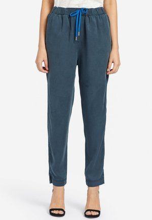 EVANGELIA - Trousers - dark blue