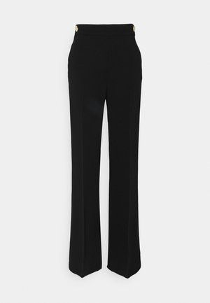 SBOZZARE  PANTALONE - Trousers - black