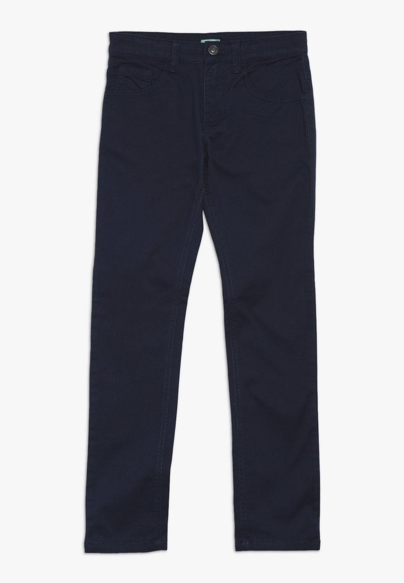 Benetton - TROUSERS - Trousers - blue
