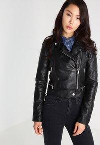 Oakwood - YOKO - Leather jacket - black - 0