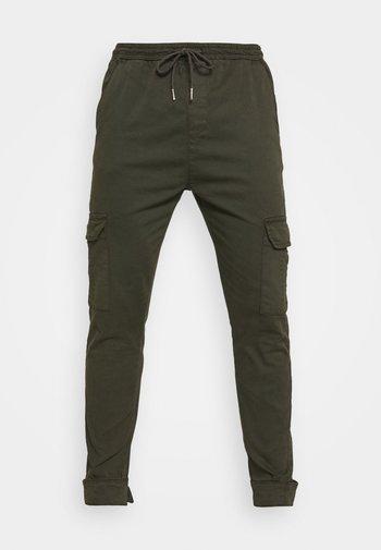 Cargo trousers - light khaki