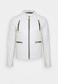 Serge Pariente - NEW LUX - Leather jacket - white - 0