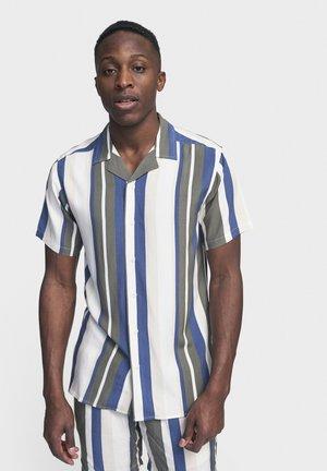 LAKE - Camisa - sandshell stripe