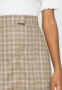 4th & Reckless - CHANCE SKIRT - Miniskjørt - beige - 4