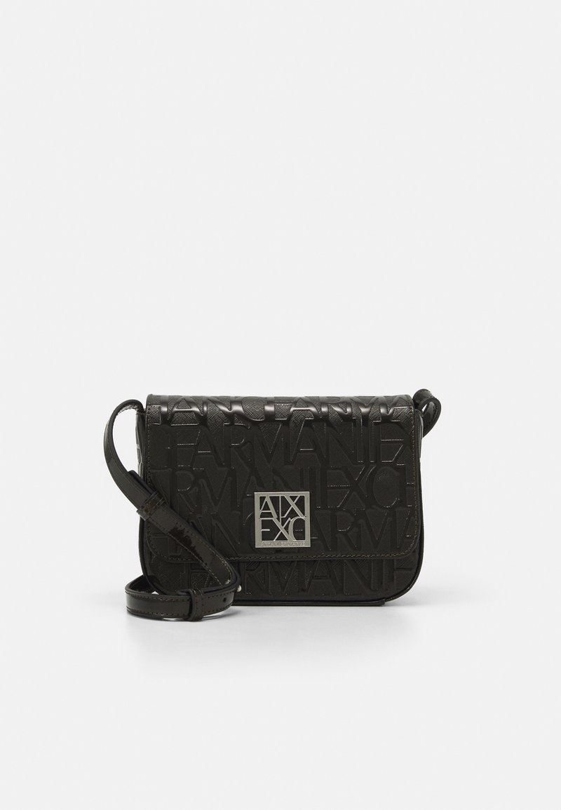 Armani Exchange - SMALL SHOULDER STRAP - Across body bag - nero
